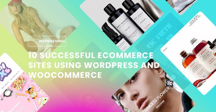 10 Successful eCommerce Sites Using WordPress and WooCommerce