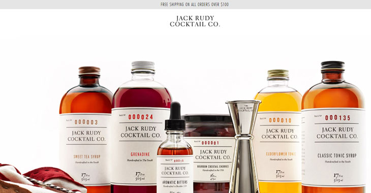 Themify WordPress Tutorial Jack Rudy Cocktail Co. 10 Successful eCommerce Sites