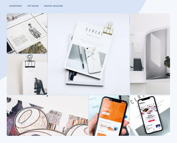 Themify Ultra Agency 3 Skin Portfolio Page Screenshot WordPress Agency Theme