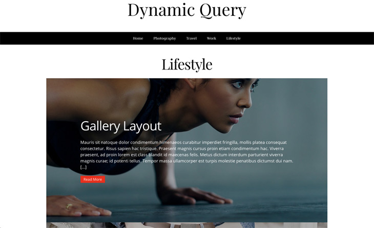 Infinite Posts Module Dynamic Query WordPress Themify Builder Pro