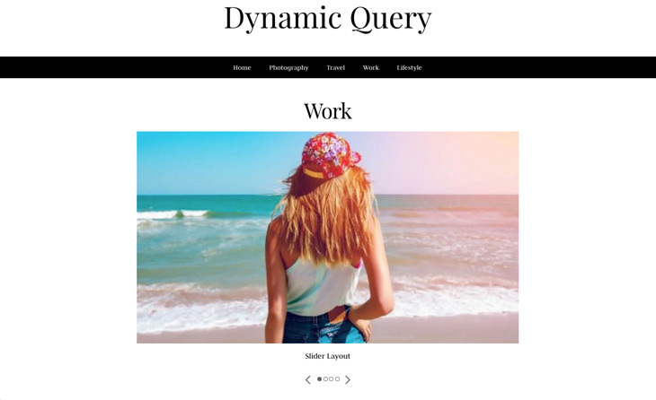 Slider Pro Module Dynamic Query WordPress Themify Builder Pro