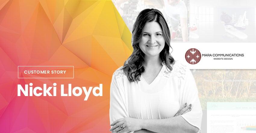 Themify Customer Story WordPress Web Designer Mara Communications Nicki Lloyd