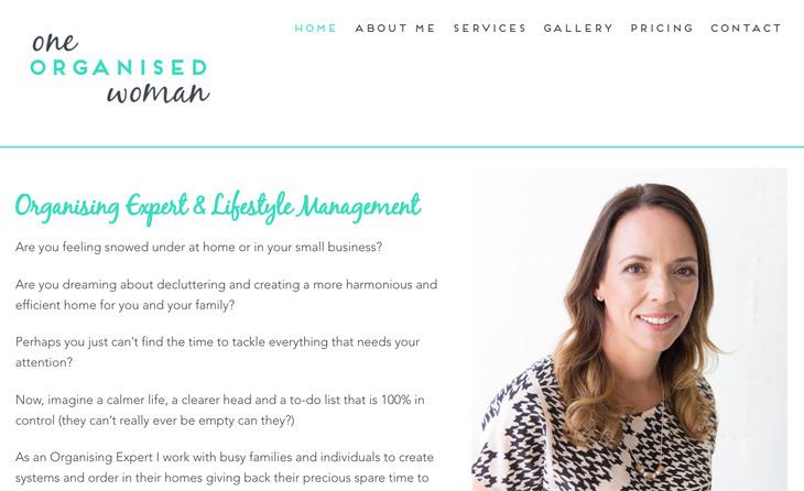 One Organised Woman WordPress Themify Ultra Theme