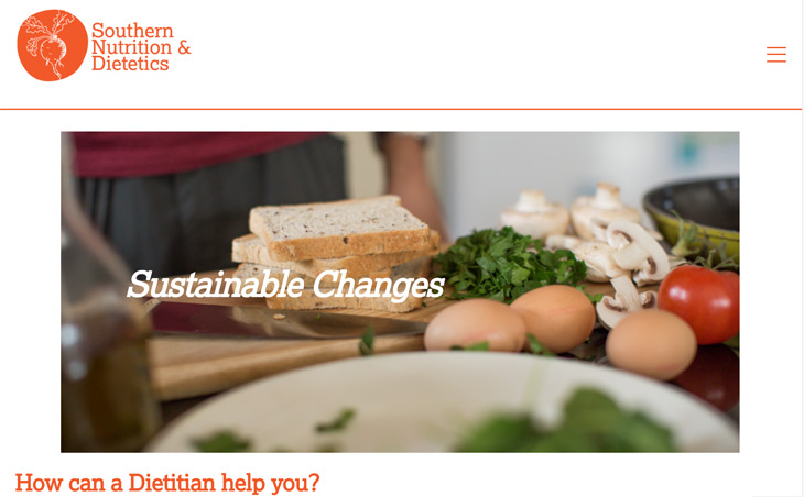 Southern Nutrition and Dietetics WordPress Themify Ultra Theme