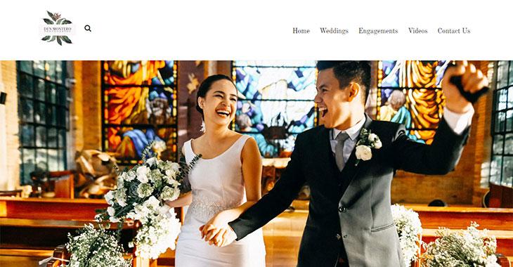 Den Montero WordPress Photography Themify Site screenshot