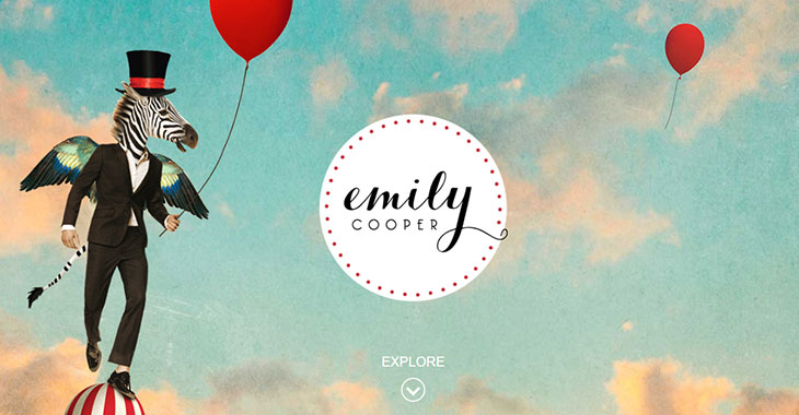 Emily Cooper WordPress Photography Themify Site screenshot