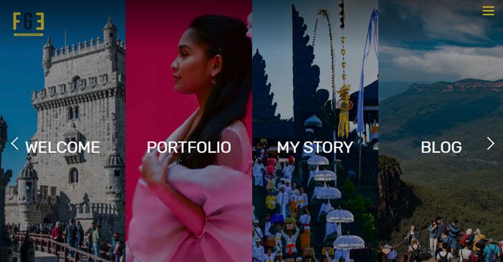 FGE WordPress Photography Themify Site screenshot