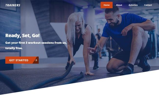 Themify Ultra Trainers Skin WordPress Themify Ultra Theme