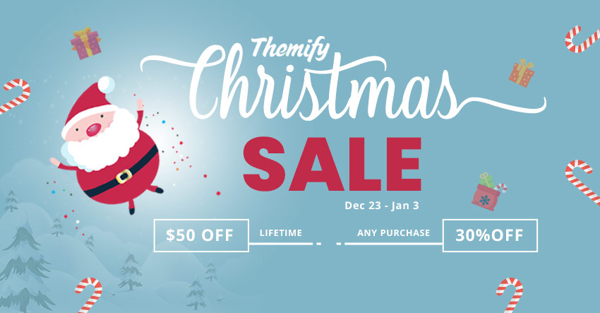 Themify Christmas Sale Holiday Sale 2019