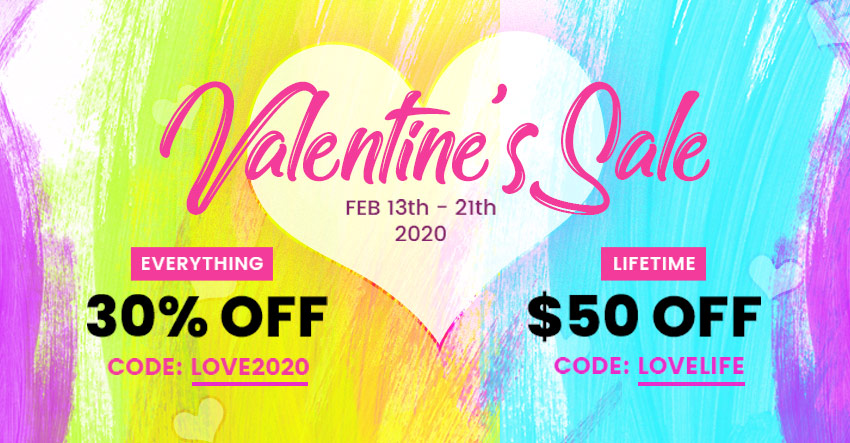Themify Valentine's Day Sale 2020