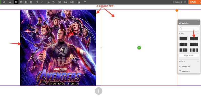 Adding 2-Column and Featured Image