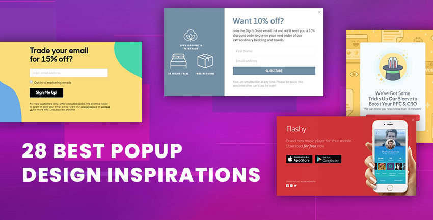 Best Popup Design Inspirations