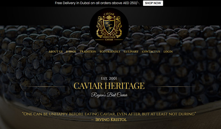 WNF Caviar heritage Themify Shoppe Theme