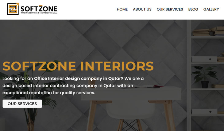 Softzone Interiors Themify Ultra Theme