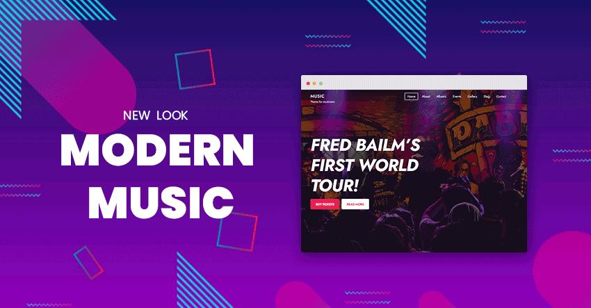 Music Modern Skin