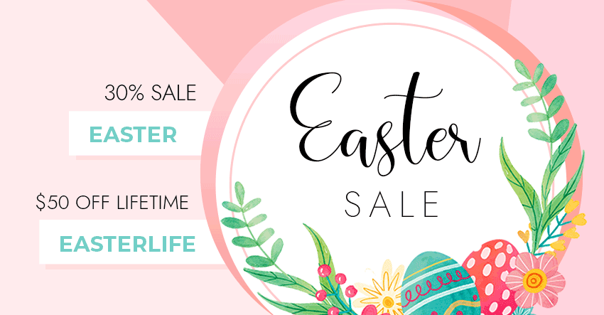 Themify Easter Sale 2021