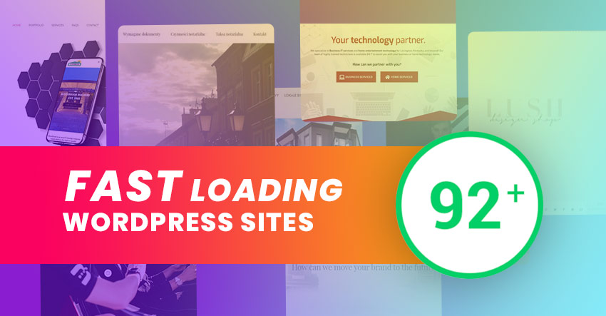 Second Round of Fast Loading WordPress Sites